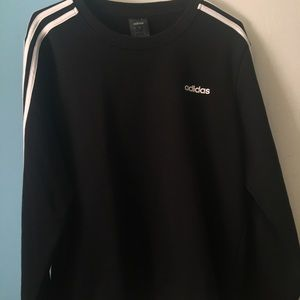 Adidas 3-Stripe Crewneck